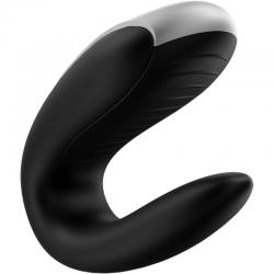 Satisfyer double fun partner vibrator - negro - Imagen 4