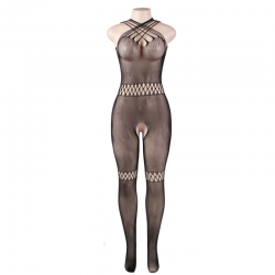 Queen lingerie bodystocking cuello de tirantas s-l - Imagen 4