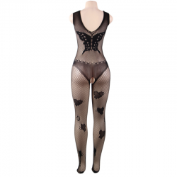 Queen lingerie bodystocking bordados mariposa s-l - Imagen 6