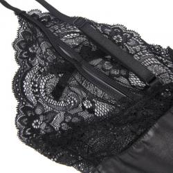 Queen lingerie teddy con cremallera s/m - Imagen 7